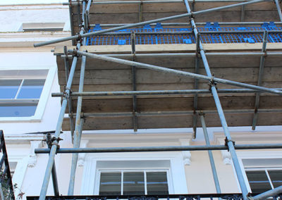 Image of St Georges Terrace scaffolding